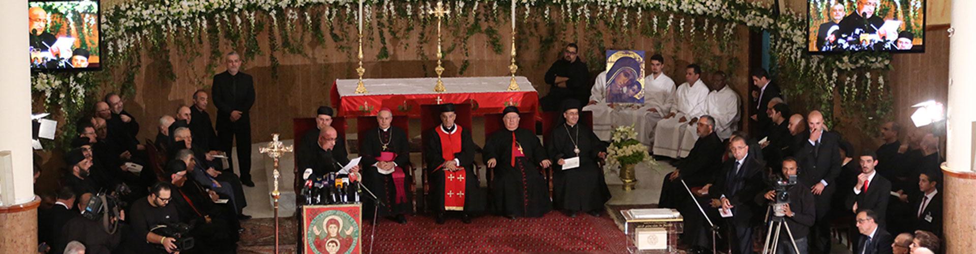 Pose de la Première Pierre du nouveau séminaire